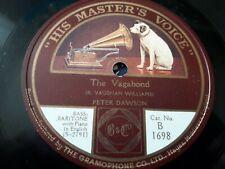 Peter Dawson - The Vagabond / The Gay Highway - 78 rpm