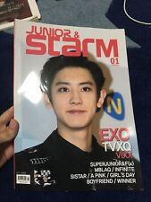 KPOP STARM magazine GIFT UK [EXO VIXX INFINITE APINK SUPERJUNIOR APINK WINNER]