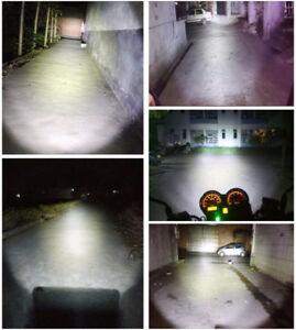 1x Motorcycle High Power H4 9003 HB2 CREE LED Bulb Hi/Lo Beam Headlight Headlamp
