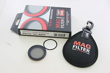 PNC MagFilter 42mm CPL Circular Polarizing Filter for Sony RX100 II IV  V HX30V
