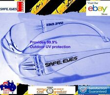 12x pairs Safety Glasses AUS Standards Compliant, Don't risk you eyes Clear