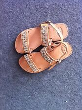 Sandals Handmade Genuine Leather  With Ancient Greek Designs