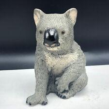 Koala Figurine Vintage Royal Heritage statue sculpture gray Australia animal paw