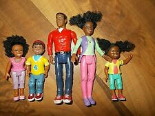 FISHER PRICE LOVING FAMILY Dollhouse African American Family People Children