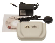 ClockWatch Star Sync External GPS Atomic Time Receiver w/Antenna Beagle Software