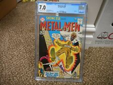 Showcase 40 cgc 7.0 DC 1962 4th appearance Metal Men ow/w pgs F/VF Radioactive