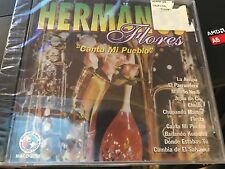 """Hermanos Flores """"Canta Mi Pueblo"""" cd SEALED"""