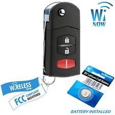 Car Flip Key Fob Keyless Entry Remote For 2004 2005 2006 Mazda Mpv Fits Mazda