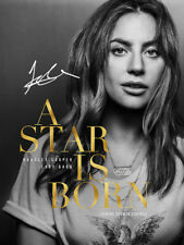 Lady Gaga SIGNED PHOTO A STAR IS BORN AUTOGRAPH Poster Promo Portrait AUTO
