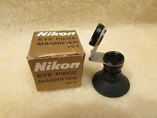 GENUINE NIKON DG-2 EYE PIECE MAGNIFIER - MINT CONDITION BOXED