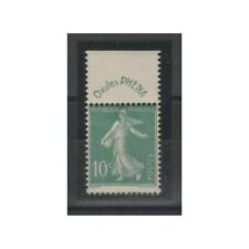 1924-26 FRANCIA FRANCE SEMINATRICE FONDO UNITO 10c PHENA MNH FOTO MF74920