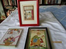 """Mary Engelbreit Musical picture """"you light up my life"""" & nip notebook,picture"""