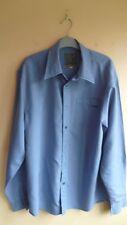 Man's Shirt, Firetrap Clothing, Long Sleeves, Deep Blue, Size L.
