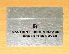 Tektronix 200 1780 01 Hv Section Cover Sc502 Sc503 Sc504 Series Oscilloscopes