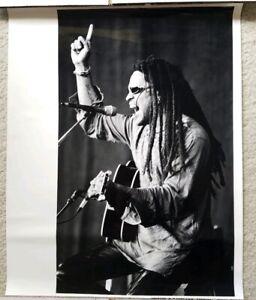 Lenny Kravitz rare photograph promotional poster WBCN Boston radio concert 16x20