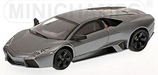 Lamborghini Reventon 2007 MATT GRAY Gray Metallic 1:43 Minichamps