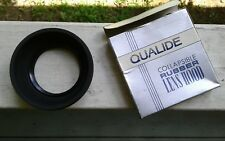 49mm qualide collapsible Rubber Lense hood photography accessory in box