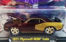 M2 MACHINES CHASE 71 1971 PLYMOUTH HEMI CUDA GROUND POUNDERS COLLECTIBLE CAR