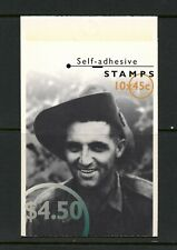 U641 Australia 1995 Famous Australians from Wwii Complete Booklet Mnh