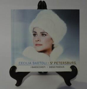 CD Album - Cecilia Bartoli - St. Petersburg - I Barocchisti - Diego Fasolis