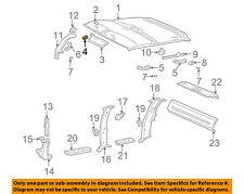 GM OEM Interior-Sunvisor Nut 22555272