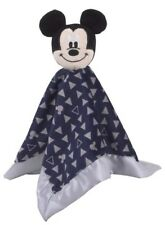 """Disney Baby Mickey Mouse Lovey Security Blanket NWT Blue Boys Novelty 12.5"""" Gift"""