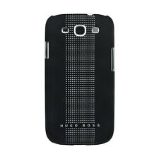 Hugo Boss Dots Black III Hard Cover Samsung Galaxy S3 Handy Schutzhülle Schwarz