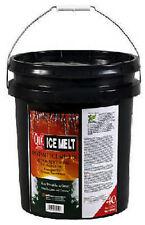 Qik Joe, 40 LB, Ice Melt Pellets, Calcium Chloride Professional Strength Milazzo