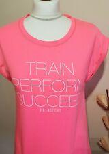 Women's Elle Sport Pink Short Sleeved T Shirt Ladies Size 12