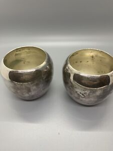 Vintage Baroque by Wallace 288 Silverplate Candle/flower Holders *no Toppers