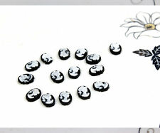 60pcs Mini Cameo Floating Charm Lolita Cute Cameo Victorian 8mm*6mm for doll etc