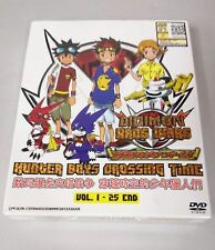 DIGIMON FUSION HUNTER BOYS CROSSING TIME Complete Anime TV Ep.1 - 25 End DVD Box