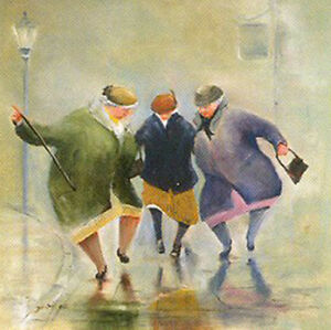 """Des Brophy """"Saturday Night Fever """" Limited Edition Print"""