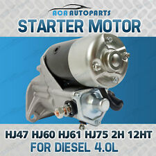 Starter Motor Fit for Toyota Dyna 3.6L 4.0L Diesel 2H 1W 1977-1988 11TH Coaster