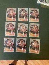Lot Of (9) 1990-91 NBA Hoops #205 Mark Jackson  Menendez Brothers
