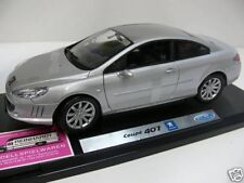 1/18 Welly Peugeot 407 Coupe silber