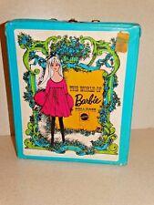 Barbie:  NICE Vintage BLUE MOD Case w/TAG!