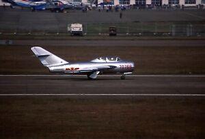 Original colour slide JJ-5 (MiG-17) Fresco 70768 of PLAAF