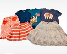 Mini Boden Sz 7 8 Lot Set Of 6 Skirts Dress Heart Pants Elephant Zebra Tops