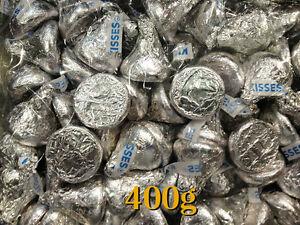 Hersheys Kisses Milk Chocolates 400g = approximate 86 pieces - Hershey's Kisses