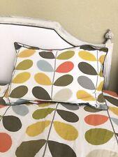 Orla Kiely Full/Queen Conforter & 2 Shams Reversible Adorable