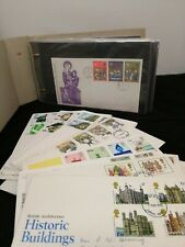 73 x Royal mail first day covers all with cachet