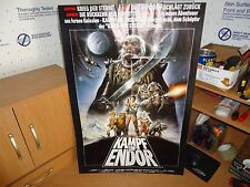 "Vintage Star Wars ""Kampf um Endor"" German Movie Poster Version!!"