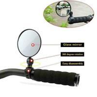 Fahrradspiegel Rückspiegel Lenker Spiegel Fahrrad Lenker Rückansicht Gläser O9I2