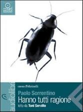HANNO TUTTI RAGIONE Letto da Toni Servillo AUDIOLIBRO CD-AUDIO MP3 P.Sorrentino