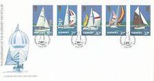 (96270) GB Guernsey FDC Yacht Club 2 July 1991