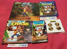CRASH BANDICOOT N. SANE TRILOGY SONY PS4  + BONUS FAN PACK COLLECTOR + PORTE CLE