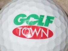 (1) GOLF TOWN LOGO GOLF BALL