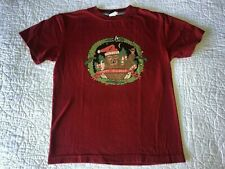 Boys VOLCOM Happy Holidaze Sloth Xmas T-shirt Top Size M Medium 10-12 EUC!