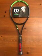 """NEW Wilson Blade 98 16x19 Tennis Racquet Grip Size 4 1/4"""", Unstrung"""